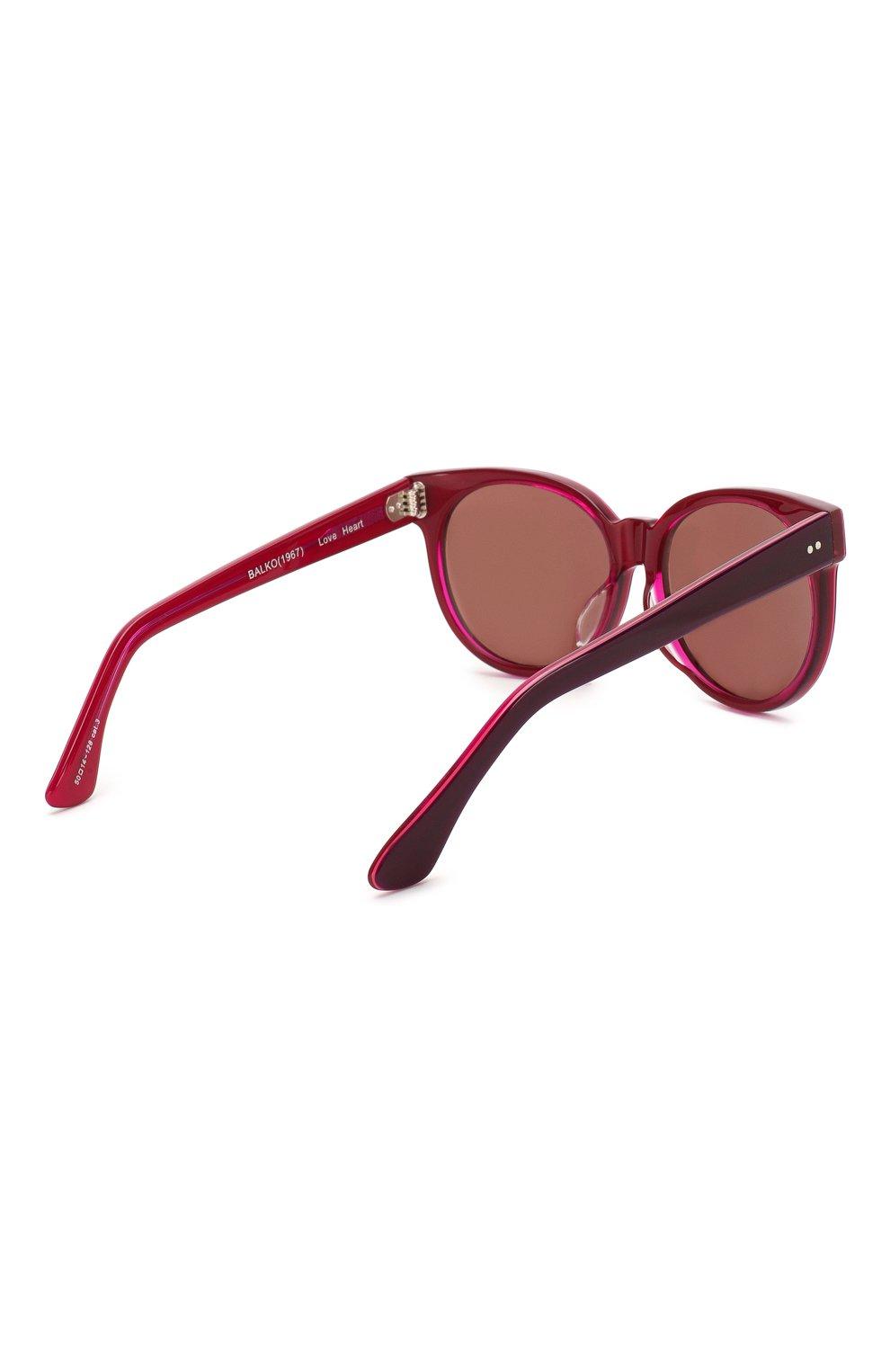 Детские солнцезащитные очки OLIVER GOLDSMITH красного цвета, арт. BALK0 | Фото 3