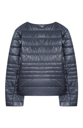 Детская стеганая куртка HERNO голубого цвета, арт. GI0030G/12017/10A-14A | Фото 2