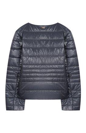 Детская стеганая куртка HERNO голубого цвета, арт. GI0030G/12017/4A-8A | Фото 2
