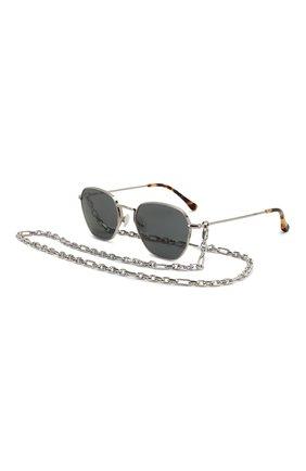 Женские солнцезащитные очки ALESSANDRA RICH серебряного цвета, арт. AR1C3 SUN   Фото 1