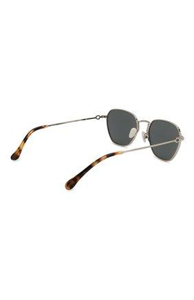 Женские солнцезащитные очки ALESSANDRA RICH серебряного цвета, арт. AR1C3 SUN   Фото 4