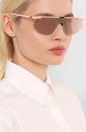 Мужские солнцезащитные очки MYKITA MYLON розового цвета, арт. PARIS/454 | Фото 2