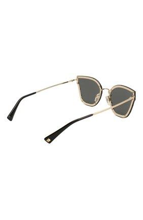 Женские солнцезащитные очки VALENTINO черного цвета, арт. 2028-300387 | Фото 4