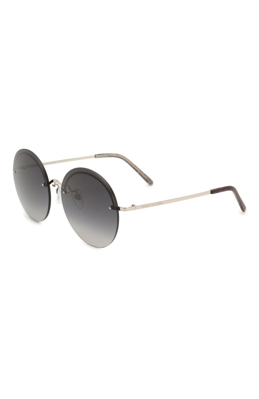 Женские солнцезащитные очки MARC JACOBS (THE) темно-серого цвета, арт. MARC 406/G KB7 | Фото 1