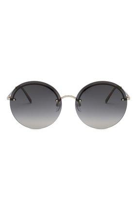 Женские солнцезащитные очки MARC JACOBS (THE) темно-серого цвета, арт. MARC 406/G KB7 | Фото 3