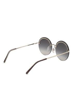 Женские солнцезащитные очки MARC JACOBS (THE) темно-серого цвета, арт. MARC 406/G KB7 | Фото 4