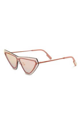 Мужские солнцезащитные очки KENZO розового цвета, арт. KZ40034U 73C | Фото 1