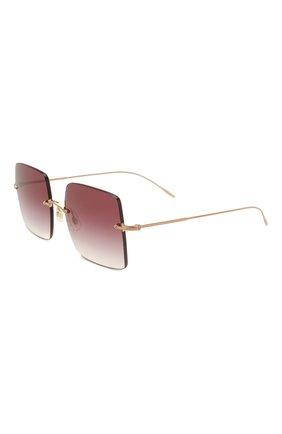 Женские солнцезащитные очки OLIVER PEOPLES бордового цвета, арт. 1268S-50378H | Фото 1
