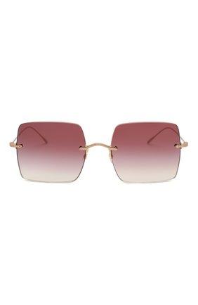 Женские солнцезащитные очки OLIVER PEOPLES бордового цвета, арт. 1268S-50378H | Фото 3