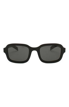Женские солнцезащитные очки PRADA черного цвета, арт. 11XS-1AB5S0 | Фото 4