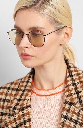 Женские солнцезащитные очки RAY-BAN темно-серого цвета, арт. 3447-004/T2 | Фото 2