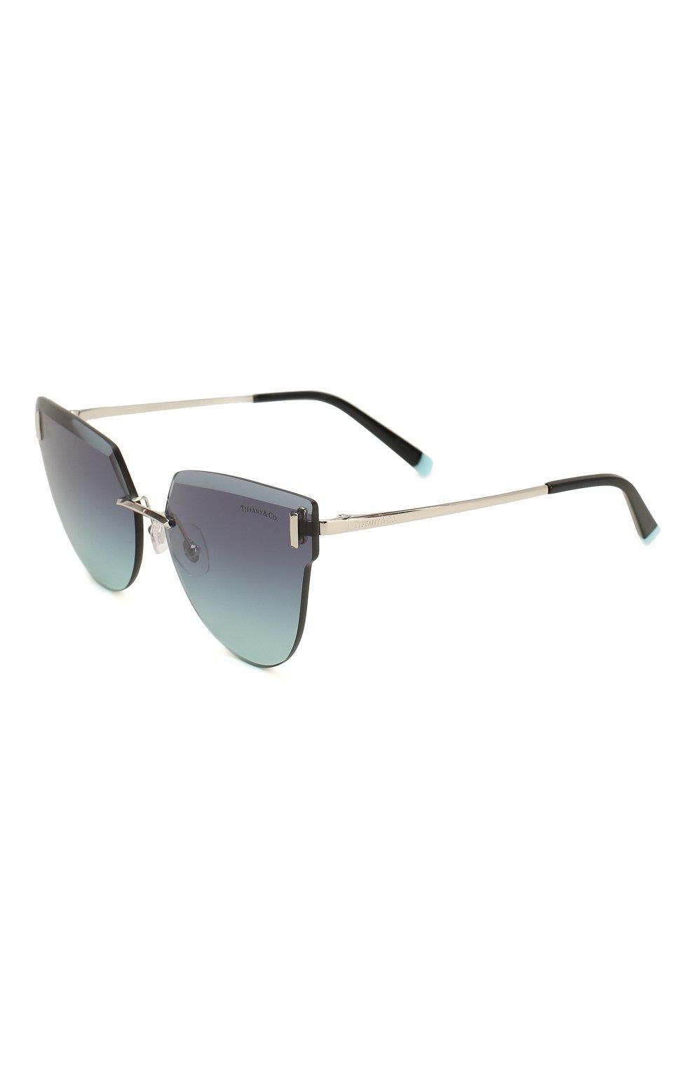 Женские солнцезащитные очки TIFFANY & CO. темно-синего цвета, арт. 3070-60019S | Фото 1