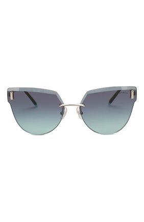 Женские солнцезащитные очки TIFFANY & CO. темно-синего цвета, арт. 3070-60019S | Фото 3