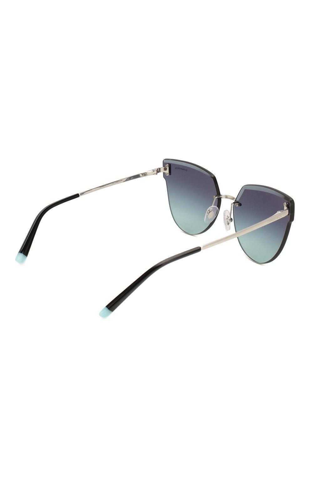Женские солнцезащитные очки TIFFANY & CO. темно-синего цвета, арт. 3070-60019S | Фото 4