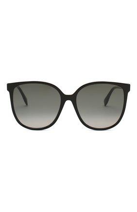 Женские солнцезащитные очки FENDI черного цвета, арт. 0374 807 | Фото 3