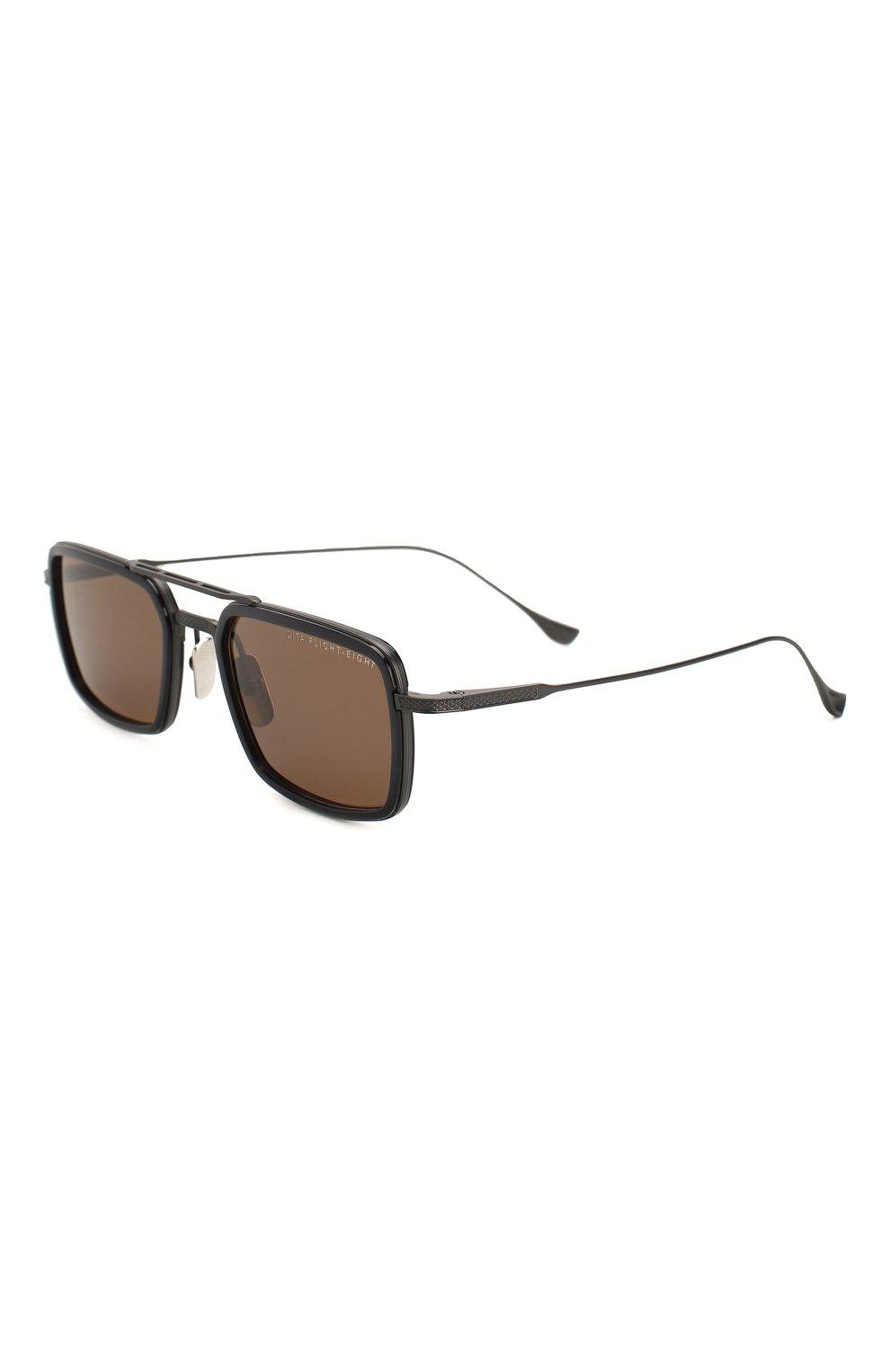 Женские солнцезащитные очки DITA черного цвета, арт. FLIGHT.008/03 | Фото 1