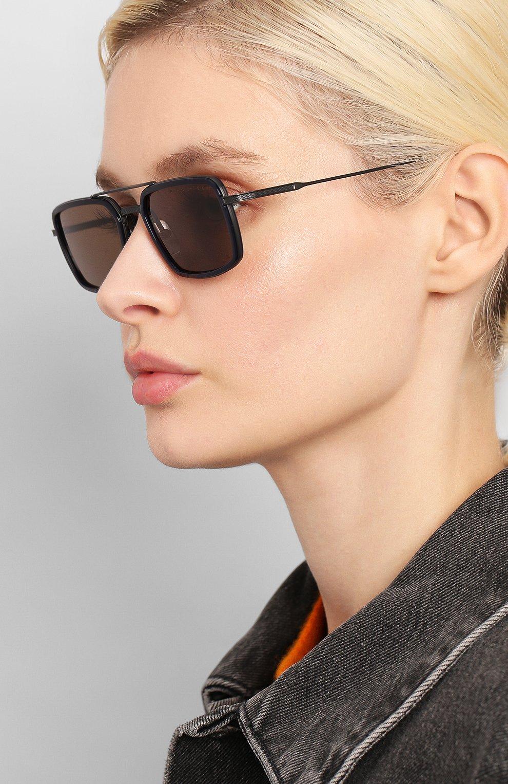 Женские солнцезащитные очки DITA черного цвета, арт. FLIGHT.008/03 | Фото 2