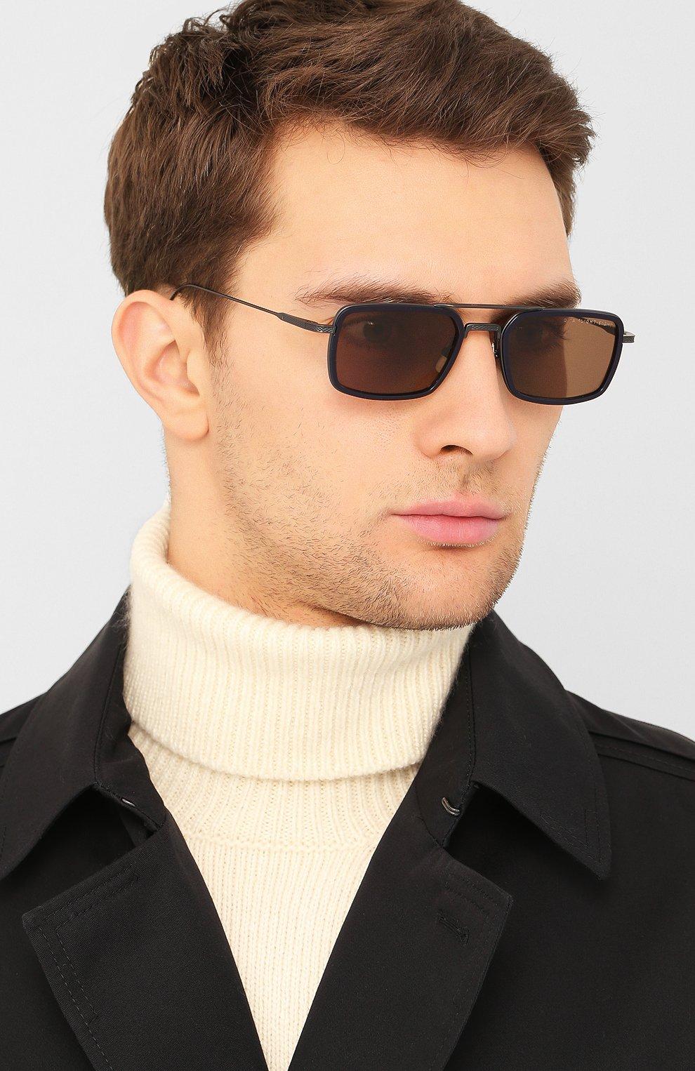 Женские солнцезащитные очки DITA черного цвета, арт. FLIGHT.008/03 | Фото 3