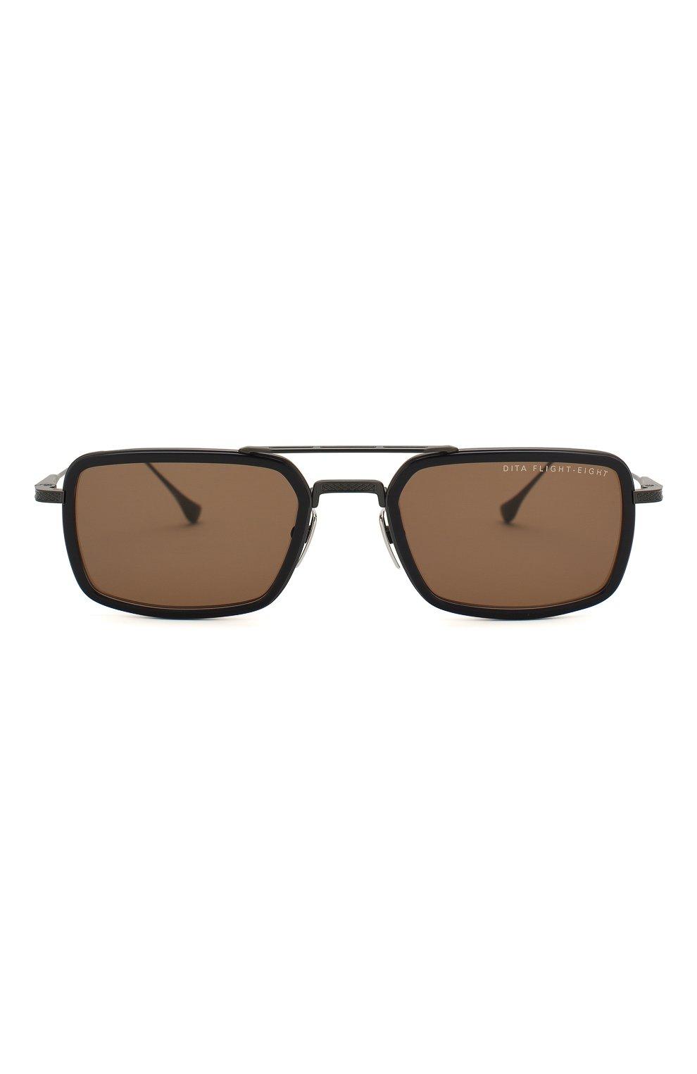 Женские солнцезащитные очки DITA черного цвета, арт. FLIGHT.008/03 | Фото 4