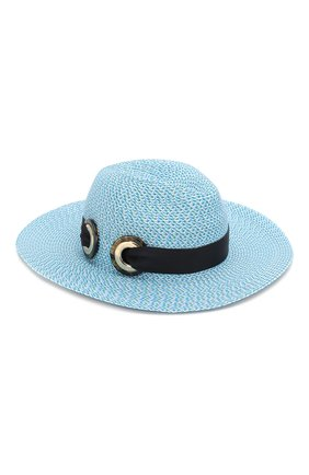 Женская шляпа GIORGIO ARMANI голубого цвета, арт. 797303/0P503   Фото 1