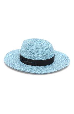 Женская шляпа GIORGIO ARMANI голубого цвета, арт. 797303/0P503   Фото 2