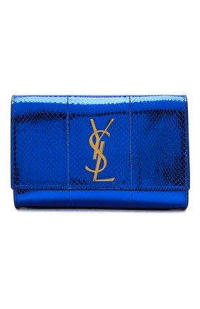 Женская сумка monogram kate SAINT LAURENT темно-синего цвета, арт. 469390/LZA0J   Фото 1