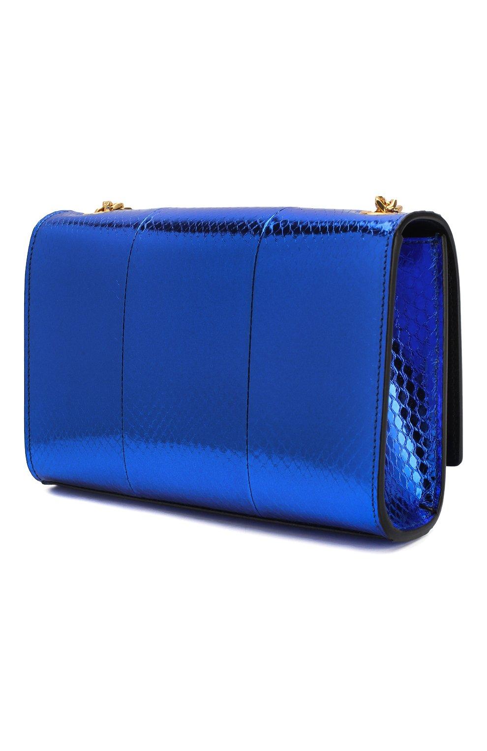 Женская сумка monogram kate SAINT LAURENT темно-синего цвета, арт. 469390/LZA0J   Фото 3