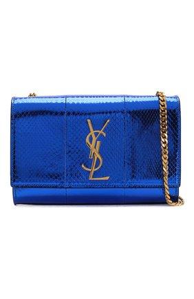 Женская сумка monogram kate SAINT LAURENT темно-синего цвета, арт. 469390/LZA0J   Фото 6