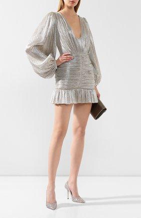 Женское платье KALMANOVICH Х TSUM серебряного цвета, арт. KTSUM002 | Фото 2