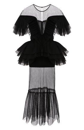 Женское платье-миди KALMANOVICH Х TSUM черного цвета, арт. KTSUM007-1 | Фото 1