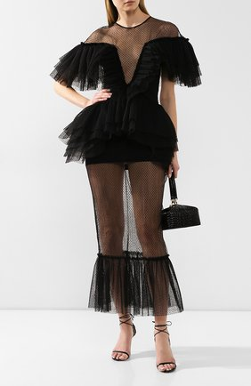 Женское платье-миди KALMANOVICH Х TSUM черного цвета, арт. KTSUM007-1 | Фото 2