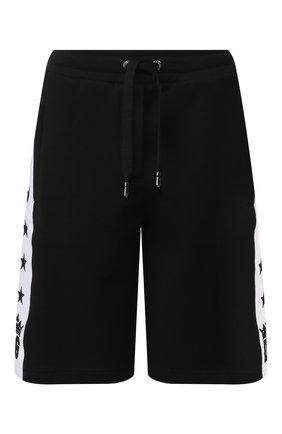Женские хлопковые шорты DOLCE & GABBANA черного цвета, арт. FTBM5Z/FU7DU | Фото 1