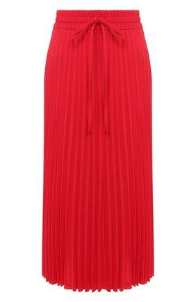 Женская юбка-миди REDVALENTINO красного цвета, арт. TR3RAB85/4RA | Фото 1