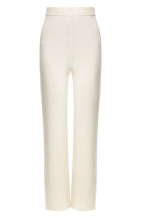 Женские кашемировые брюки JOSEPH белого цвета, арт. JF004381 | Фото 1