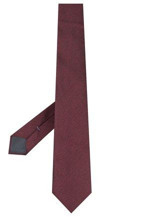 Мужской шелковый галстук ERMENEGILDO ZEGNA бордового цвета, арт. Z7D30/1L7 | Фото 2