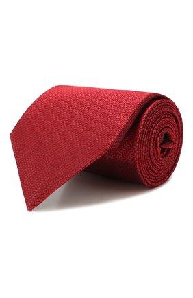 Мужской шелковый галстук ERMENEGILDO ZEGNA красного цвета, арт. Z7D24/1UM | Фото 1