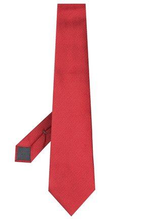 Мужской шелковый галстук ERMENEGILDO ZEGNA красного цвета, арт. Z7D24/1UM | Фото 2
