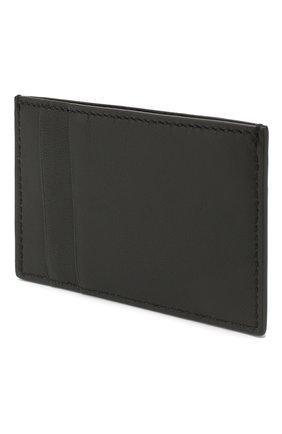 Мужской кожаный футляр для кредитных карт ALEXANDER MCQUEEN черного цвета, арт. 602144/1SJ2B | Фото 2