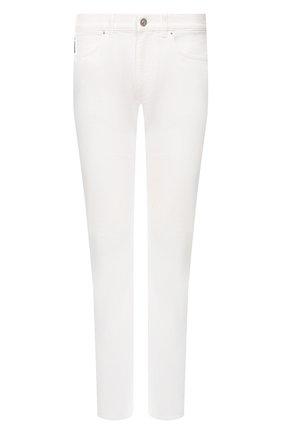 Мужские джинсы VERSACE белого цвета, арт. A81832/A233709 | Фото 1