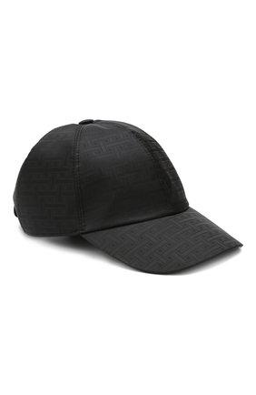 Мужской бейсболка BRIONI черного цвета, арт. 04740L/P9912 | Фото 1