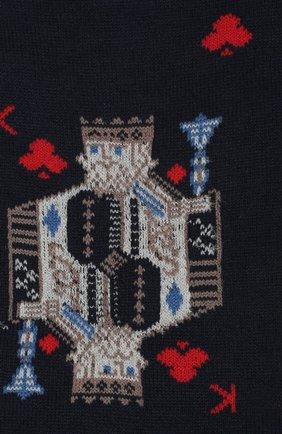 Мужские хлопковые носки STORY LORIS темно-синего цвета, арт. 995 | Фото 2