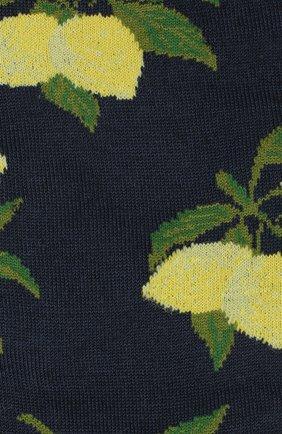 Мужские хлопковые носки STORY LORIS темно-синего цвета, арт. 5741 | Фото 2