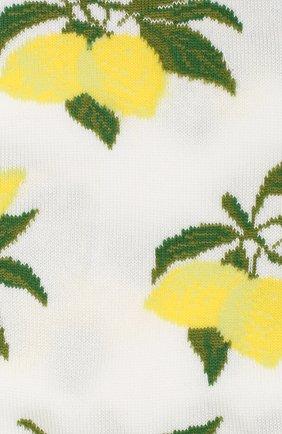 Мужские хлопковые носки STORY LORIS белого цвета, арт. 5741 | Фото 2