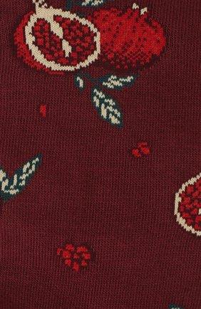 Мужские хлопковые носки STORY LORIS бордового цвета, арт. 45 | Фото 2