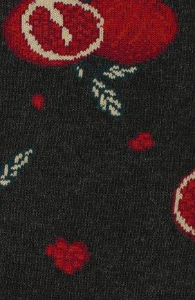 Мужские хлопковые носки STORY LORIS темно-серого цвета, арт. 45 | Фото 2