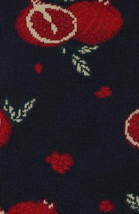 Мужские хлопковые носки STORY LORIS темно-синего цвета, арт. 45 | Фото 2