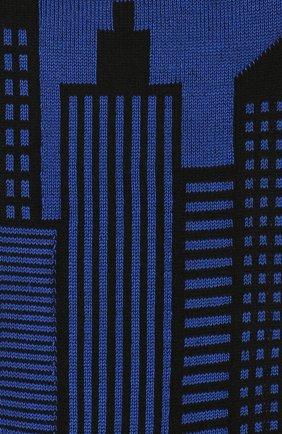 Мужские хлопковые носки STORY LORIS синего цвета, арт. 1613 | Фото 2