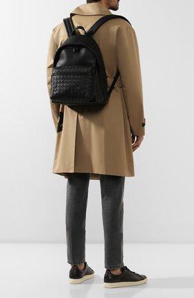Мужской кожаный рюкзак BOTTEGA VENETA черного цвета, арт. 599634/VCPQ2 | Фото 2