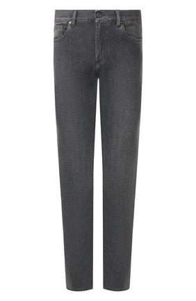 Мужские джинсы ERMENEGILDO ZEGNA серого цвета, арт. UUI50/JS01 | Фото 1