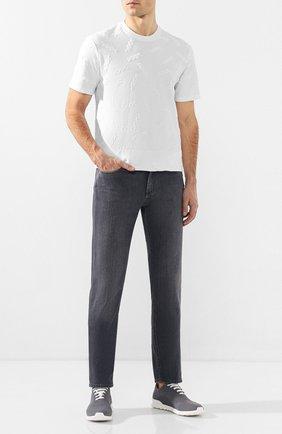 Мужские джинсы ERMENEGILDO ZEGNA серого цвета, арт. UUI50/JS01 | Фото 2